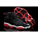 Jordan 6 Rings retro noir rouge
