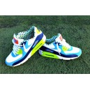 Nike Air Max 90 LE Lacrosse fille turquoise blanc vert