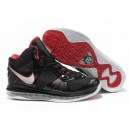 LeBron James 8 air max noir rouge blanc