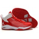 chaussure michael Jordan fly 23 rouge blanc
